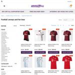30%-70% off Official Premier League & European Football Kits: 2017-18 Kits fr $62.99 | 2016-17 Kits fr $21.99 @ Football Galaxy
