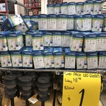 Crompton LED A60 Warm 3000K 480 Lumen Frosted Globes $1 Twin Pack @ Bunnings