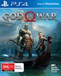 God of War PS4 Preorder $65.07 Delivered @ The Gamesmen eBay