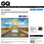 Win a Year's Worth of Petrol & Set of Pirelli Tyres Worth $5,000 from News Life Media