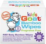 Kids Goat Bamboo Wet Wipes 480 Pack - $10.99 - Chemist Warehouse (1/2 Price)