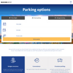 [Hack] Melbourne Airport T123 & T4 Parking 2.5 Hours for $7 Anytime (Online Booking Required)