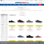 Dunlop Canvas Low Top Trainers $13.98 or GBP £6.99 (~AUD$12.41) @ SportsDirect.com (Shipping $1.99)