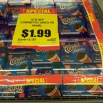 [NSW] Oreo Cornetto 4pk, $1.99 Save $5 at IGA Parramatta