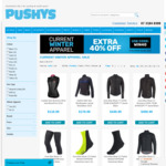 40% off Winter Apparel - Pushy's Online