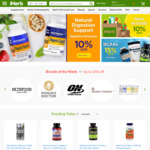 22% off iHerb Brands & Homeopathy Lines