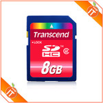 Transcend 8GB SDHC (Class 2) $10.95 Shipped (from OrangeIT)