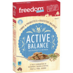 Freedom Foods Cereal Buckweat & Quinoa 350g $2.99 (Normally $6) @ Woolworths