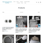 Up to 70% off Sitewide (E.g. Cullector Ultra Efficient Showers $74.70) + Free Shipping @ Water Saving Showers Australia