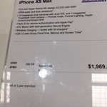 [VIC] iPhone XS Max 256GB $1969.99 (RRP $2049), iPhone XS 64GB $1579.99 (RRP $1629) @ Costco Docklands (Membership Required)