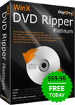WinX DVD Ripper Platinum 8.8.1 for Free @ Give Away of the Day