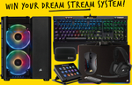 Win a Corsair Streaming PC Bundle from Corsair