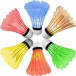 [6 Pack] Newdora Colorful LED Badminton Set Shuttlecock $14.69 + Delivery (Free with Prime/ $49 Spend) @ Newdora Amazon
