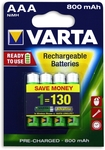 Varta AA & AAA Ni-MH Rechargeable Batteries 4-Pack $8.92 Each @ Bunnings ($9 @ EB Games)
