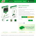 75% off MILO Champions Pack - $11.25 + Free Delivery (Save $33.75) @ MILO Australia
