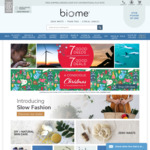 Free Express Shipping @ Biome
