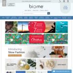 Free Express Shipping @ Biome