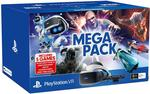PlayStation VR Mega Bundle (PSVR + 5 Games) $349 + Delivery @ BIG W (Online Only)