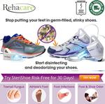 SteriShoe 2.0 or SteriShoe+: Shoe Sanitiser & Odor Eliminator $199 Delivered @ Rehacare