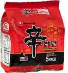 Nongshim Shin Ramyun Noodle Soup 5 Pack $3 @ Woolworths