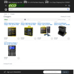 Chargers for 18650 Batteries, Nitecore D2=$29, i2=$25, i8=$65, $7 Delivery, Free for orders over $50 @ Ecocell.com.au