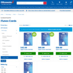 15% off $30, $50 and $100 App Store & iTunes Gift Cards @ Officeworks