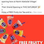 [SA] Grand Opening - Free Iced Tea @ ChaTime, North Adelaide Village