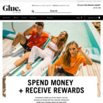 $10 Voucher When Downloading Glue Store App (Free Membership Required)