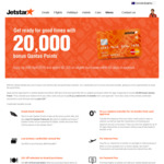 Jetstar Mastercard $29 First Year Annual Fee + 20,000 Bonus Qantas Points after Spending $2,000 within 60 Days