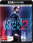 John Wick 2 4K $12 + Delivery (Free with Prime/ $49 Spend) @ Amazon AU