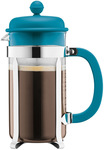 Bodum 2018 Colours French Press (8 Cup) $13.27, (3 Cup) $9.07 + $7.95 Delivery (Free Pickup/Instore) @ Myer