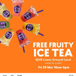 [NSW] Free Fruity Ice Tea @ Chatime, QVB