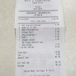 Dinner for One $6.95 @ KFC