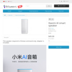 Xiaomi AI Xiaoai Smart Speaker (Chinese Mandarin Commands Only) $45 Delivered @ Ozymart