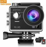 35% off JEEMAK Action Camera 4K Sport Cam 170° Wide-Angle Wi-Fi Waterproof C $65 Delivered @ Campark via Amazon AU
