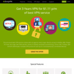 Premium Plans July 4th Offer 3 Years VPN AU $1.58/Month (Was AU $11.36/Month) @ ZoogVPN
