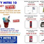 [QLD] Bucket Sale - Buy a Bucket $2 Get 20% off What You Can Fit in Bucket @ City Mitre 10, Brisbane CBD