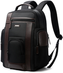"""Bopai Luxury Style Leather & Microfibre Anti-Theft Backpack with USB Charging B6751 Black Fits 15.6"""" Laptop $162 @ Catch"""