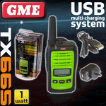 GME 1 Watt TX665 80 Channel Handheld UHF CB Two Way Radio $36.50 Delivered @ Autoelec