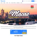 Sydney to Macao Return from $599 on China Eastern Airways | $50 off Shows, Tickets & Attractions @ Trip.com