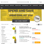 Cellarmasters Spend & Save - $100 off + Free Delivery When Spending $200 or More
