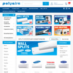 10% off Sitewide on Air Conditioners & Accessories @ The Polyaire Store