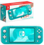 Nintendo Switch Lite Turquoise Console $249 Delivered @ The Gamesman eBay