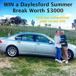 Win a Daylesford Accommodation & Wine Experience Package for 2 Worth $3,000 from Daylesford Wine Tours