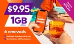 6x 28-Day amaysim Renewals of 1GB Unlimited Plan $4.97 @ Groupon (New Customers)