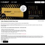 Event Cinemas - 4x Gold Class eVouchers (Off Peak) for $100 @ Event Cinemas Gift Shop (Online)