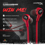 Win a Pair of HyperX Cloud Earbuds from Centre Com