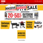 20-50% off Dining, (up to $500 off Ziegler & Brown Turbo & up to $150 off Ziggy) BBQs, Outdoor Living & More @ Barbeques Galore