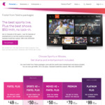 Foxtel with Sports HD (No Contract or Install Fees, Save $24) $50 P/M for First 12 Months & More @ Telstra