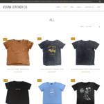 50% to 75% off All Stock + Delivery ($0 with $50 Spend) @ Vegan Leather Co